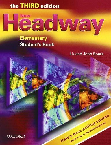 9780194393195: New headway. Elementary. Student's book-Workbook-Portfolio. Con espansione online. Per le Scuole superiori. Con CD Audio. Con CD-ROM