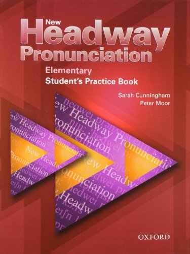 9780194393324: New Headway Pronunciation Course Elementary: Student's Practice Book and Audio CD Pack