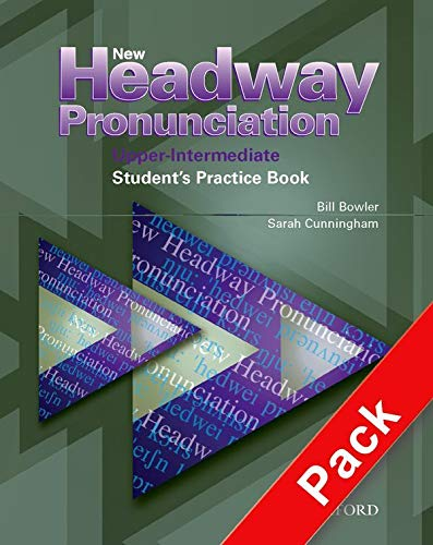 9780194393355: New Headway Pronunciation Course Upper-Intermediate: Student's Practice Book and Audio CD Pack