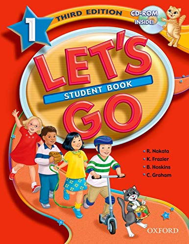 9780194394321: Let's Go 1 Student Book with CD-ROM (Let's Go Third Edition)