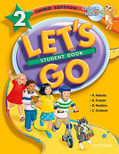 Let's Go 2 Student Book with CD-ROM: Nakata, Ritsuko; Frazier,