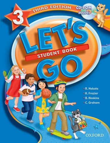 Let's Go 3 Student Book with CD-ROM: Nakata, Ritsuko; Frazier,
