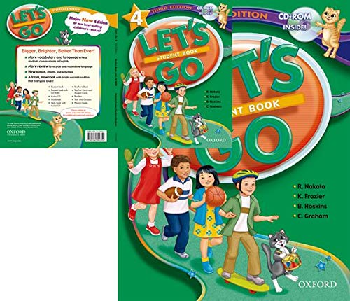 9780194394352: Let's Go: 4: Student Book with CD-ROM Pack