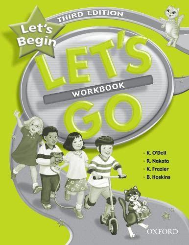 9780194394529: Let's Begin: Let's Go Beginner. Workbook