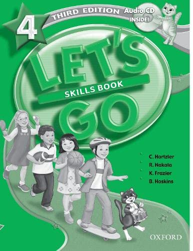 Let's Go 4 Skills Book with Audio: Christine Hartzler, Ritsuko
