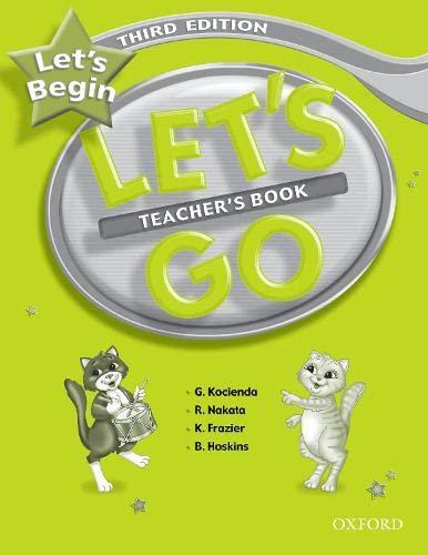 9780194394796: Let's Begin: Let's Go Beginner. Teacher's Book 3rd Edition
