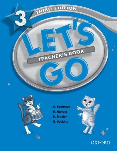 Let's Go 3 Teacher's Book: Genevieve Kocienda, Ritsuko
