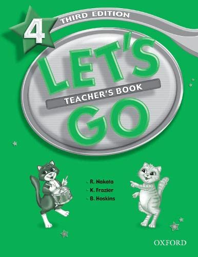 9780194394833: Let's Go 4 Teacher's Book (Let's Go Third Edition)