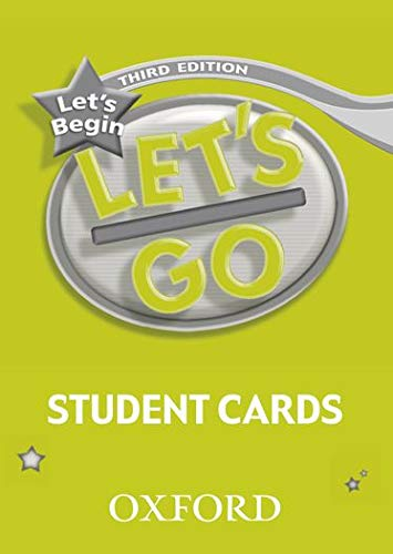 9780194394864: Let's Go, Let's Begin Student Cards (Let's Go Third Edition)
