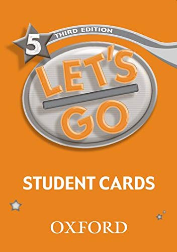 9780194394918: Let's Go 5 Student Cards (Let's Go Third Edition)