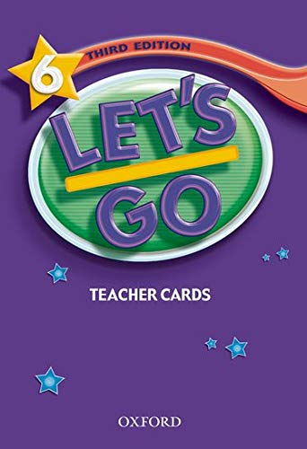 Let's Go 6 Teacher's Cards (Let's Go Third Edition) (0194394999) by Ritsuko Nakata; Karen Frazier; Barbara Hoskins; Carolyn Graham