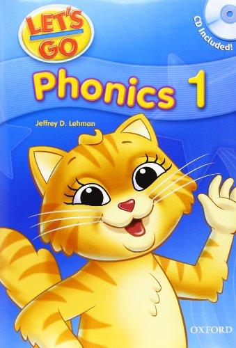 Let's Go Phonics 1 with Audio CD (Book 1): Jeffrey Lehman