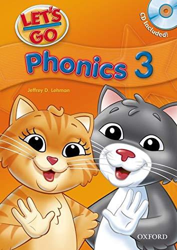 Let's Go Phonics 3 With Audio CD: Jeffrey Lehman