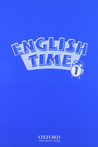 9780194395359: English Time Picture Cards