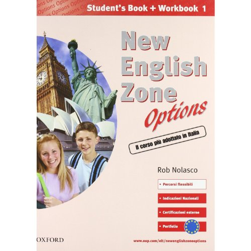 9780194395755: New English Zone Options 1 : Pack. Student's book-Workbook & Extra book. Con CD.