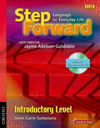 9780194396523: Step Forward Intro Student Book with Audio CD