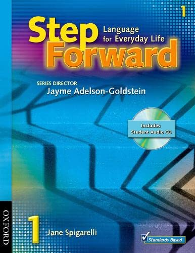 9780194396530: Step Forward 1 Student Book with Audio CD