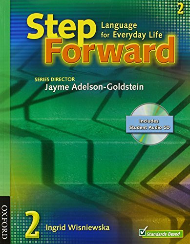 9780194396547: Step Forward 2 Student Book with Audio CD