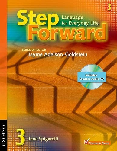 9780194396554: Step Forward 3 Student Book with Audio CD