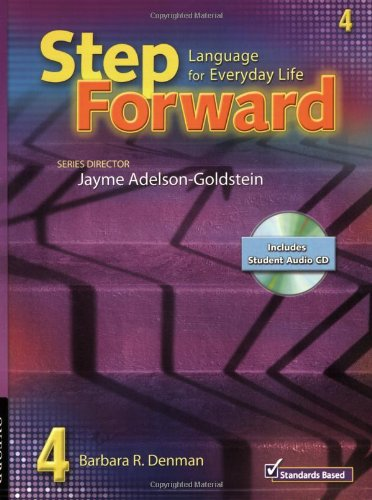 9780194396561: Step Forward 4 Student Book with Audio CD