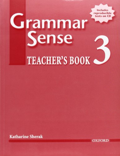 9780194397063: Grammar Sense 3 Teacher's Book (Book+CD)