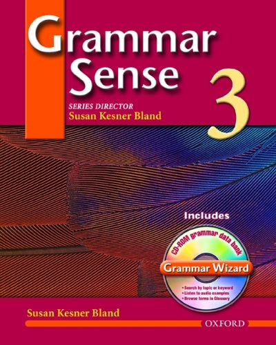 9780194397100: Grammar Sense 3: Student Book 3 with Wizard CD-ROM