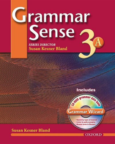 9780194397117: Grammar Sense 3: Student Book 3A with Wizard CD-ROM