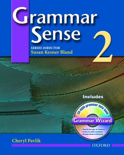 9780194397155: Grammar Sense 2: Student Book with Wizard CD-ROM