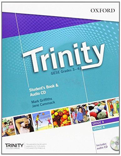 9780194397353: Trinity Graded Examinations in Spoken English (GESE): Trinity College London Graded Examinations in Spoken English (GESE) Grades 3-4: Student's Pack with Audio CD (Trinity Graded Exams)
