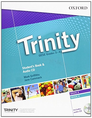 9780194397353: Trinity Graded Examinations in Spoken English (GESE): Grades 3-4: Student's Pack with Audio CD