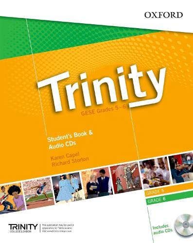 9780194397360: Trinity Graded Exams: Student's Book Grades 5-6 CD Pack