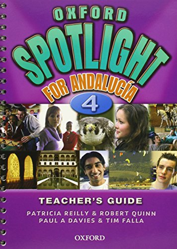 9780194398114: Oxford Spotlight 4: Teacher's Book Andalusian Edition