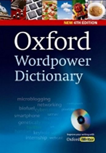 9780194398237: Oxford Wordpower Dictionary, 4th Edition Pack (with CD-ROM)