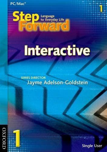 9780194398282: Step Forward 1 Interactive CD-ROM (Single user)