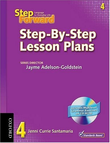 9780194398411: Step Forward 4 Step-by-Step Lesson Plans with Multilevel Grammar Exercises CD-ROM