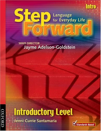 9780194398435: Step Forward Introductory Level Student Book: Language for Everyday Life