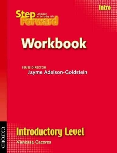 9780194398442: Step Forward Intro Workbook Introductory