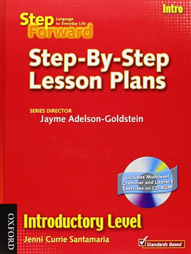 9780194398473: Step Forward Intro Step-by-Step Lesson Plans
