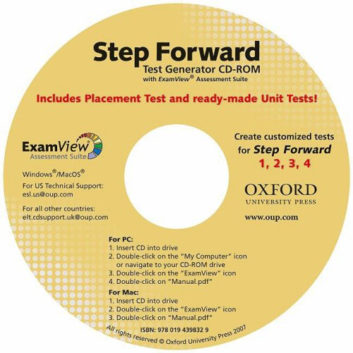 9780194398572: Step Forward: Test Generator CD-ROM with ExamView Assessment Suite (Step Forward (Oxford))
