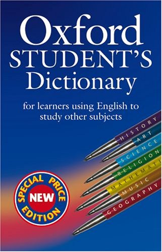 9780194398695: Oxford Students Dictionary of English