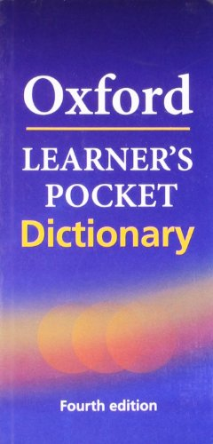 OXFORD LEARNER'S POCKET ENGLISH DICTIONARY,4E: DICT
