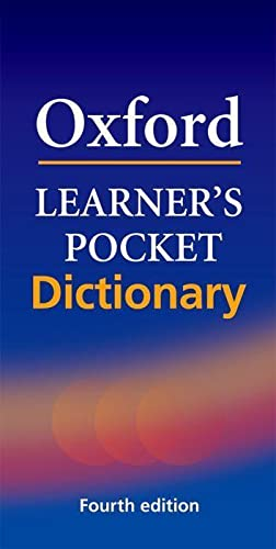 Oxford Learner's Pocket Dictionary (Spanish Edition): Varios Autores