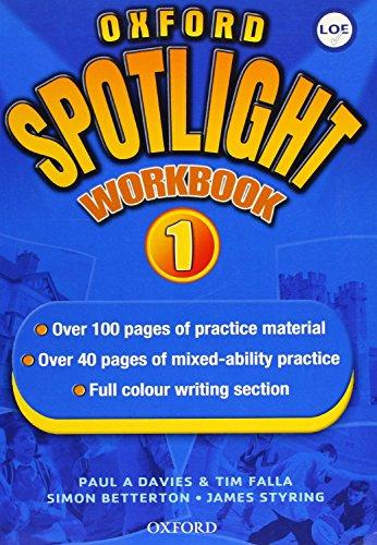 9780194399098: Oxford Spotlight 1: Enhanced: Workbook (Spain)