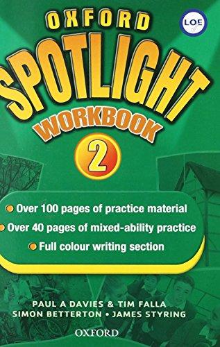 9780194399104: Oxford Spotlight 2 Workbook