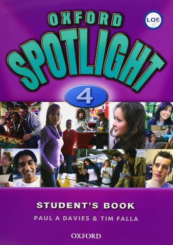 9780194399166: Oxford Spotlight 4: Student's Book Pack Spanish