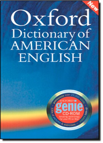 9780194399494: Oxford Dictionary of American English for Learners (Book & CD-ROM)