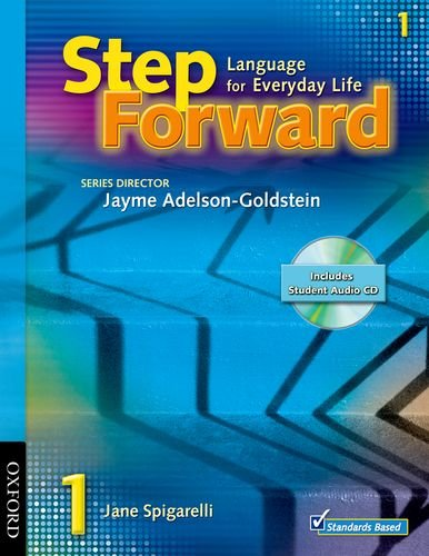 9780194399784: Step Forward 1 with Audio CD and Workbook Pack: Level 1