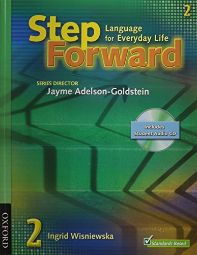 9780194399791: Step Forward 2 with Audio CD and Workbook Pack: Level 2