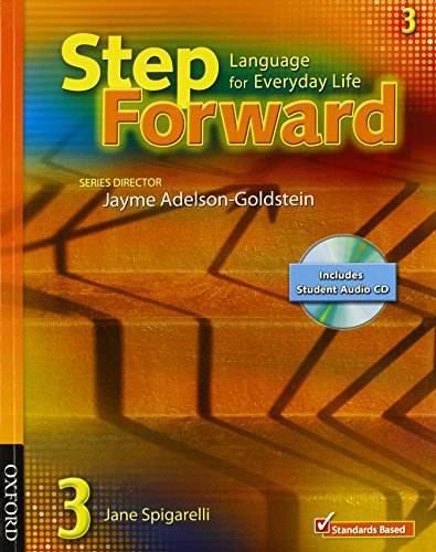 9780194399807: Student Book 3 Student Book with Audio CD and Workbook Pack (Step Forward)