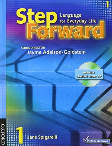 9780194399838: Step Forward 1: Language for Everyday Life [With CDROM and Workbook and CD (Audio)]
